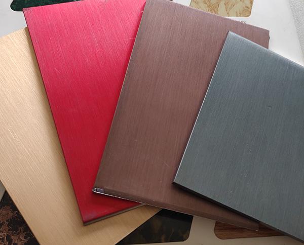 拉丝氧化铝单板